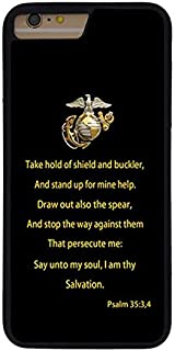 FIDIKO US Marine Corps USMC Military Quote Protective Cases Compatible iPhone 7 Plus / 8 Plus, coulorful Hard Plastic Slim   Dust-Proof Protective Cases Compatible iPhone 8 Plus