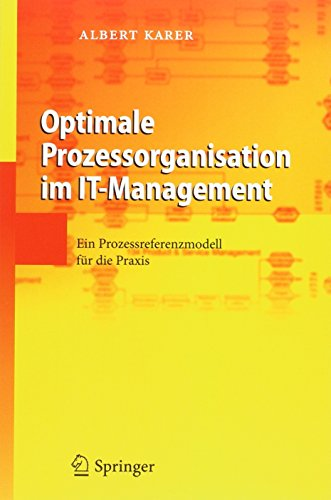 Optimale Prozessorganisation im IT-Management und Poster