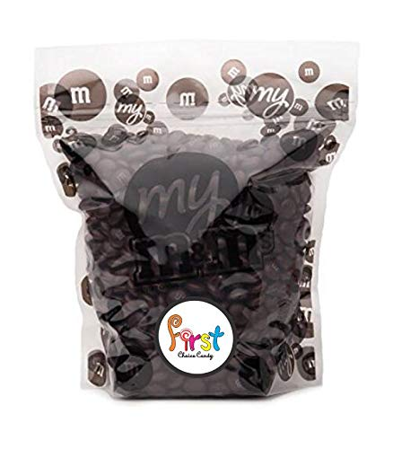 All Color M&M's Milk Chocolate Bulk Candy Bag (Brown, 2 LB)