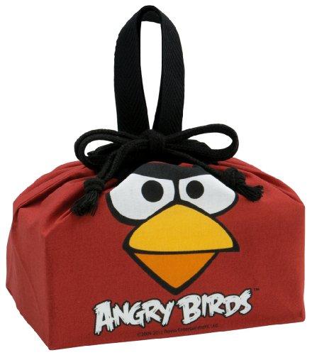 "Angry Birds Design Reusable Benton Box Lunch Bag (sizes: W11"" X H6.5""x D4.5"")"
