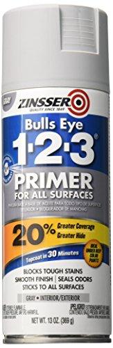 Rust-Oleum 290971 Zinsser All-Purpose Primer, 13 Oz Aerosol Can, Liquid, Gray