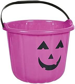 amscan Sweet Treats Halloween Pumpkin Bucket ‑ Purple Party Favour, Plastic, 6
