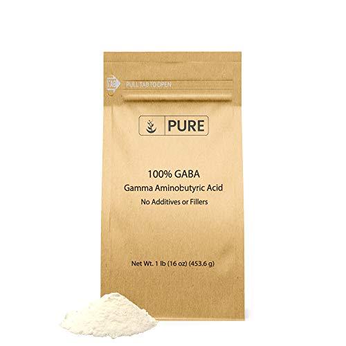 Gamma Aminobutyric Acid (GABA) Powder (1 lb) Sleep & Relaxation*