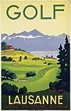 Paramount Prints–Poster Reise Golf Lausanne Schweiz