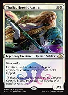 Magic: The Gathering - Thalia, Heretic Cathar - 046/205 - Buy-a-Box Promo - Eldritch Moon
