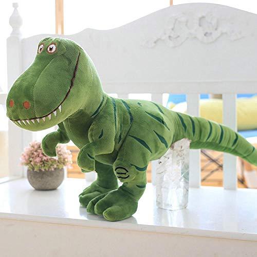 JMKHY Dinosaur Plush Toys Cartoon Tyrannosaurus Cute Stuffed Toy Dolls for Kids Children Boys Birthday Gift-40cm_Green