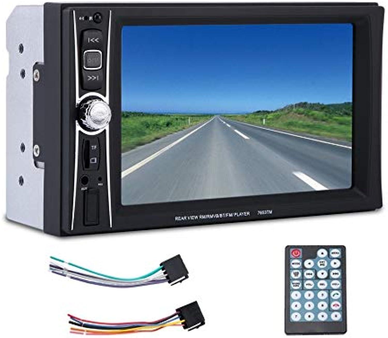 Matthew00Felix 6 inch TFT Touch Screen 2 Din Car Radio RM RMVB BT FM MP5 Player