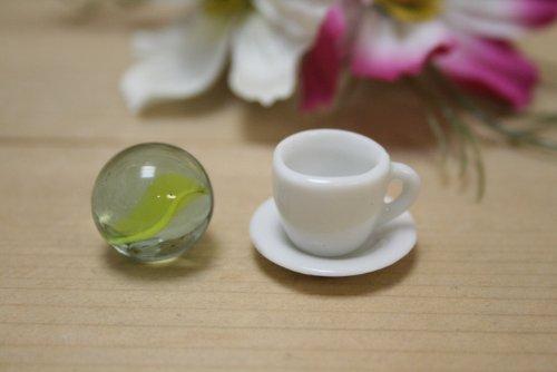 日本製 ES カップ&ソーサー ミニチュア陶器 美濃焼 陶器 ミニチュア食器 9855