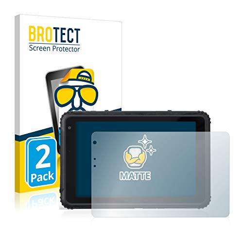BROTECT 2X Entspiegelungs-Schutzfolie kompatibel mit Caterpillar Cat T20 Pro Bildschirmschutz-Folie Matt, Anti-Reflex, Anti-Fingerprint