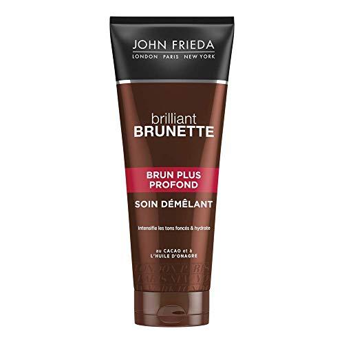JOHN FRIEDA Brilliant Brunette Soin Démêlant Brun Plus Profond 250 ml