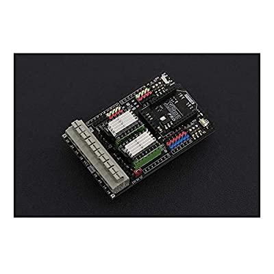 Gravity: Dual Bipolar Stepper Motor Shield for Arduino (DRV8825) - Stepper Motors Driver Expansion Shield Compatible with the Arduino UNO R3