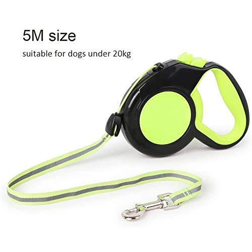 Automatische intrekbare hondenlijn 3/5/8 meter Intrekbare hondenlijn Nacht Reflecterende hondenriem Hondentraining Wandelen Joggen