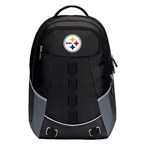 """NFL Pittsburgh Steelers """"Personnel"""" Backpack, 19"""" x 5"""" x 13"""""""