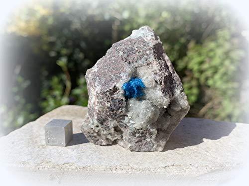 UKGE Cavansite Heilkristall Mineralstein Specimen SilverGeo® Zertifiziert