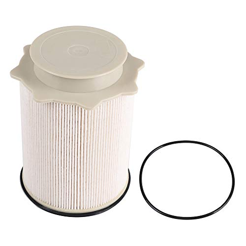 6.7 Cummins Fuel Filter 68157291AA for Ram 2500 3500 4500 6.7L Turbo Diesel Engines Years 2011 2012 2013 2014 2015 2016 2017 - Replacement Dodge Ram 6.7L L6 Cummins Diesel Fuel Filter Set with O-ring