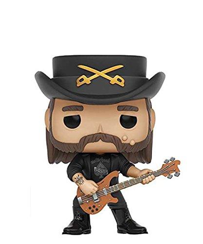 Funko Pop! Rocks – Lemmy Kilmister #49 - Figura de vinilo (10 cm)