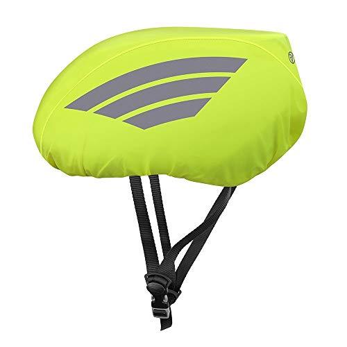 Proviz Classic Hi Viz Reflective Waterproof Cycling Helmet Cover Yellow