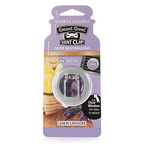 Yankee Candle Profumatore per Auto Vent Clip, Lemon Lavender, 1