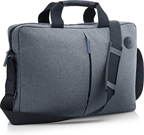 HP Essential Top Load - Funda bandolera para portátil de hasta 15.6', color gris