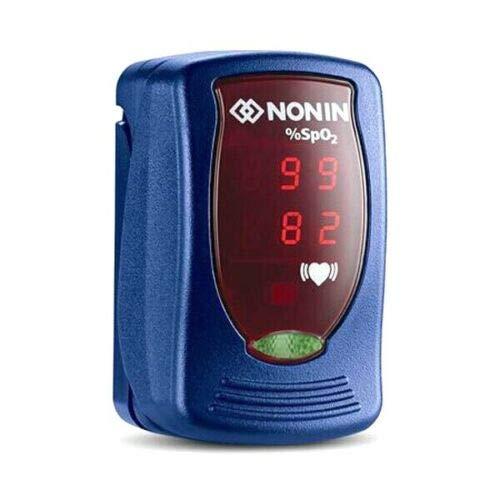 Nonin 9590-BL Onyx - Oxímetro de pulso para dedo, color azul. ✅