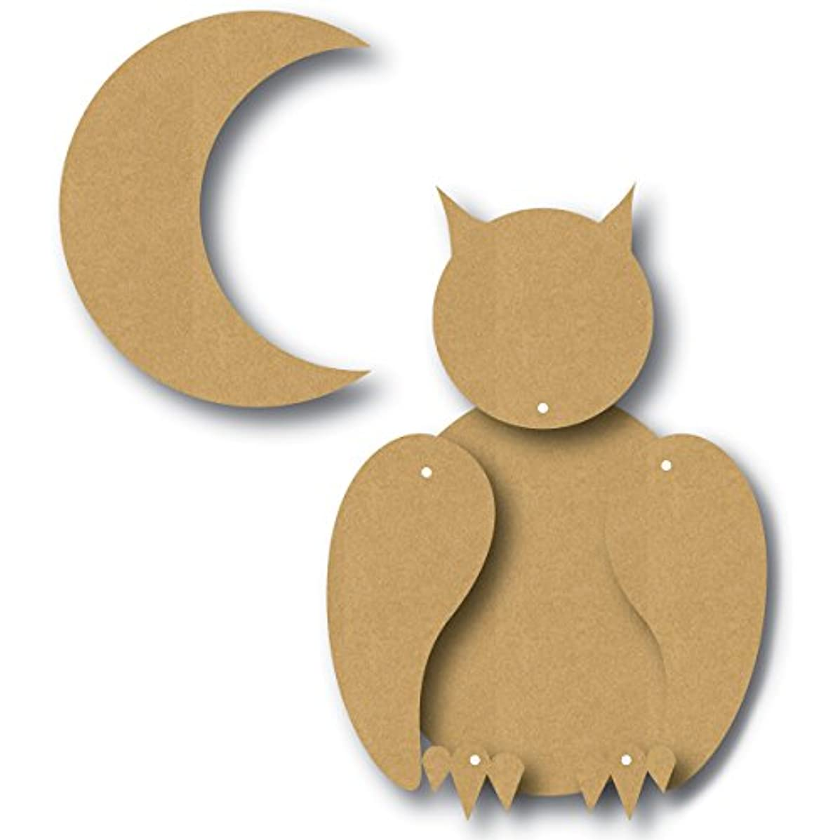 Eyeconnect Crafts Chipboard Totem Poppet, Owl, 4