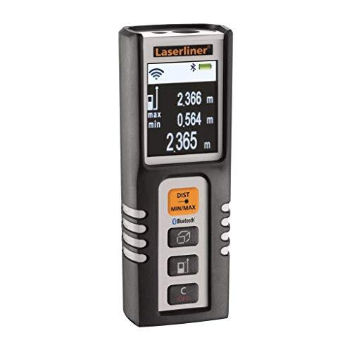 Umarex Laser-Entfernungsmesser-Bluetooth-DistanceMaster Compact Plus 080.938A, 1.5 V, Schwarz, Grau
