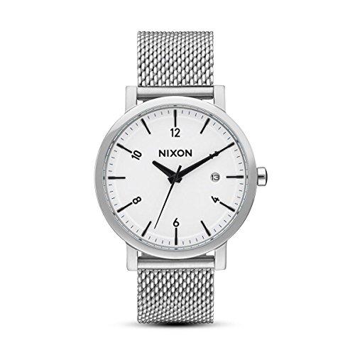 Nixon Damen-Armbanduhr weiß (White sunray), A10872450-00