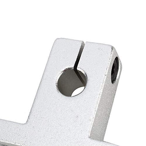 NEUFDAY Neufdayyy 2 stücke 12mm CNC linearschienenwellenführung unterstützung Halterung vertikale optische Achse Halter für xyz Tisch CNC