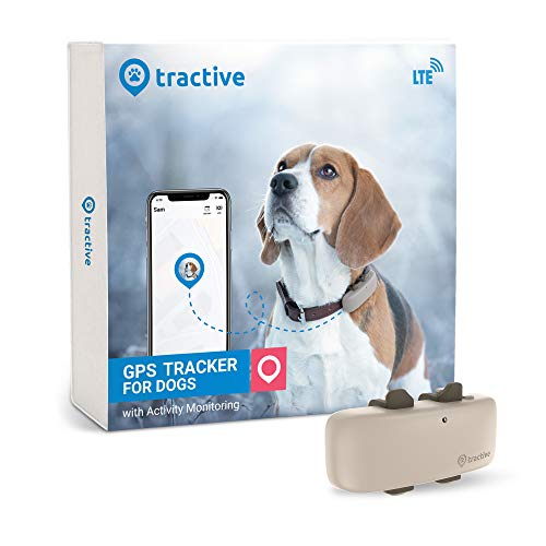 Tractive LTE GPS Dog Tracker - Location & Activity Tracker for Dogs...