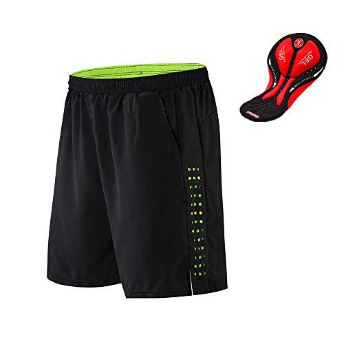 WOSAWE Men's Shorts For Spin Bike
