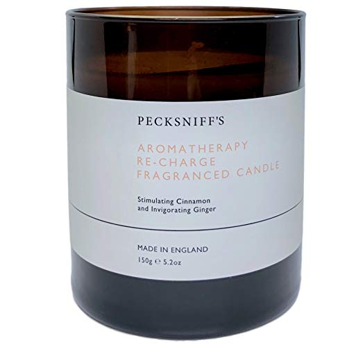 Pecksniffs England Aromatherapy Re-Charge Fragranced Candle
