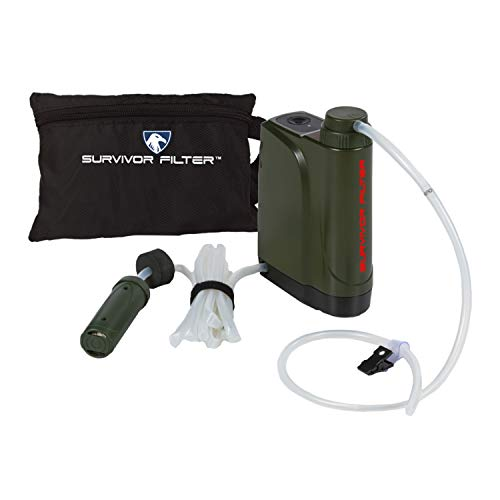 Survivor Filter Pro X - Electric Camping Water Filter - Emergency Water Filter