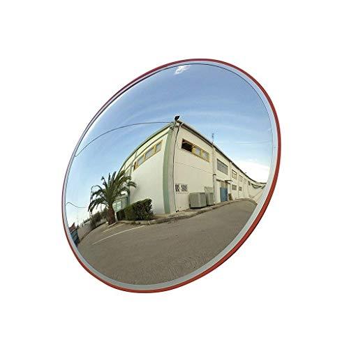 SZQ-Espejos de seguridad Familia entrada a la cochera de tráfico Espejo, plástico Ampliar Campo de visión del espejo convexo irrompible que no esté deformado Seguridad Espejo 30-80cm Espejo de punto c
