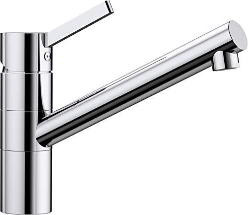 Blanco Tivo, Küchenarmatur - Einhebelmischer, Wasserhahn für die Küche, chrom, Hochdruck, 1 Stück, 517599