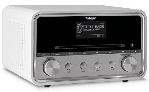 TechniSat DIGITRADIO 580 – Stereo Digitalradio mit CD-Player Internetradio mit Multiroom-Streaming, Bluetooth, Steuerung per App, 2 x 10 Watt) weiß - 5