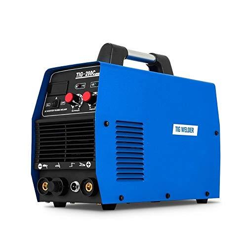 Lasser Multi-functie TIG Lasser 200Amp Multifunctionele HF Start 2IN1 IGBT Inverter Welder Machine TIG/MMA DC lassen Machine Anti-aanbaklaag Lasapparaat (Color : TIG-200, Size : 220V)