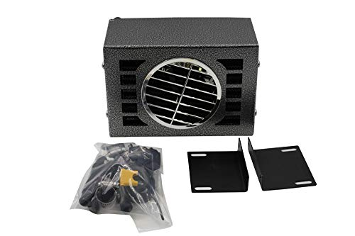 20,000 BTU Auxiliary Heater 24 Volt Compact Size 2 Speed Fan Truck Universal