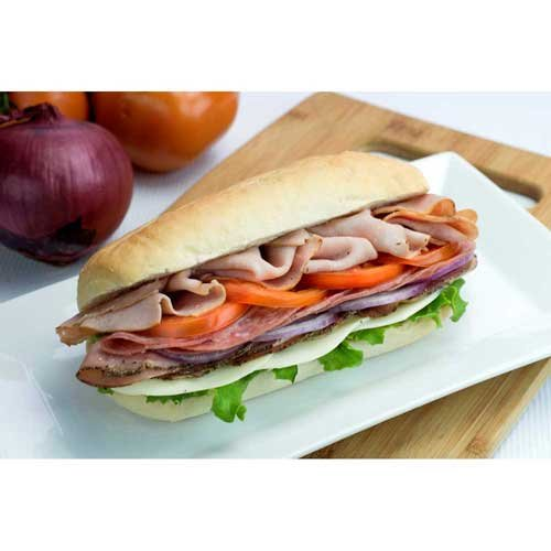 Gonnella Baking Sliced French Roll, 7 inch -- 72 per case.