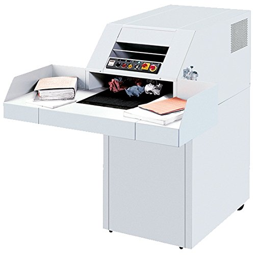 Find Discount MBM DESTROYIT 4107 STRIP CUT SHREDDER WITH A WIDE FEED TABLE AND POWERED CONVEYOR FOR ...