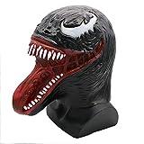 Halloween Maske Terror Venom Super Spiderman Headgear Prom Party Latex Requisiten