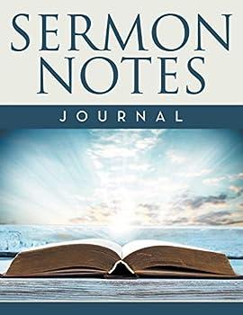 Diary Sermon Notes Journal Book