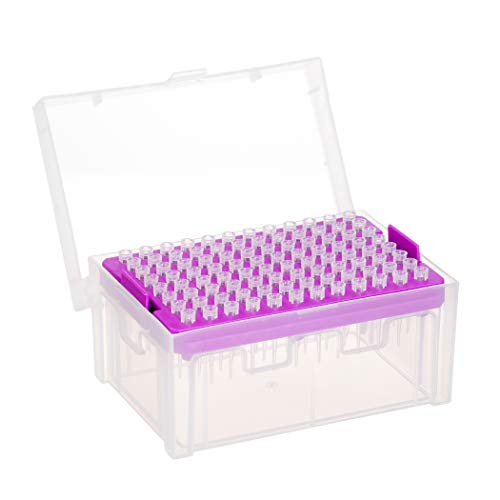 Sterile Pipette Tips, DNAse and RNAse Free, Autoclavable - 10 µl (10 Racks, 960 Tips)