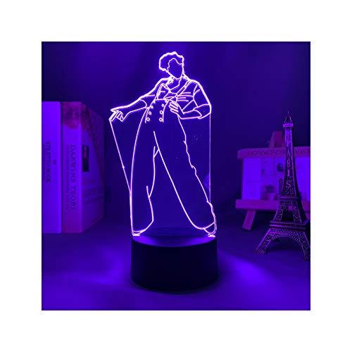 Luz De Noche Led 3D Harry Styles Lámpara De Regalo para Fanáticos...