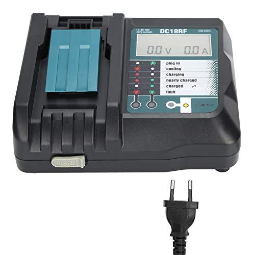 Cargador de batería de Litio, Cargador de batería Batería de Litio Plástico UE 100 V-240 V para la Industria para Makita
