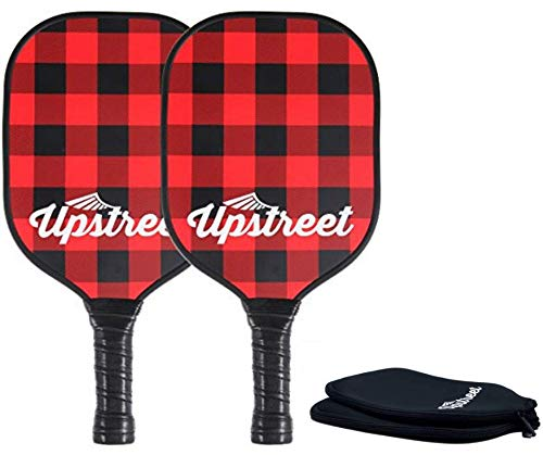 Upstreet Graphite Pickleball Paddle by PP Honeycomb Composit