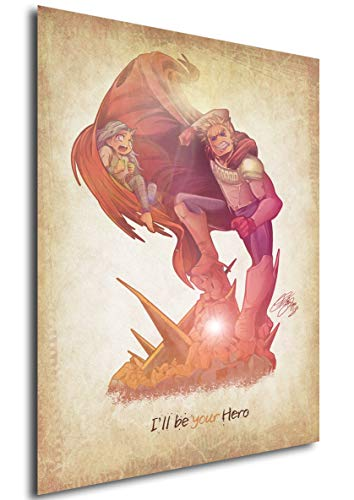 Instabuy Posters My Hero Academia - Lemillion by Diego Fichera (A4 30x21)
