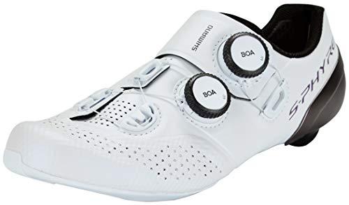 SHIMANO S-PHYRE RC9W (RC902W) SPD-SL Zapatos de Mujer Talla 41 Blanco