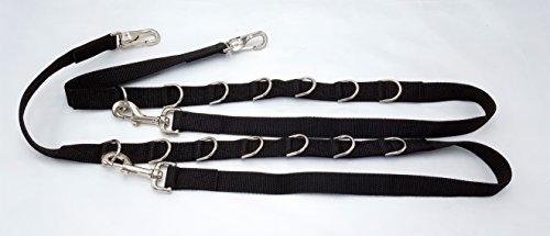 Ausbindezügel Ausbinder Warmblut/Vollblut elastisch mit D-Ringen