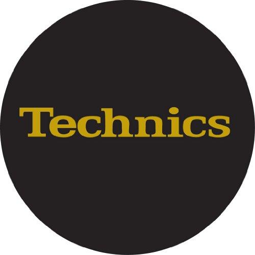 Technics DMC DJ Slipmats (1 Paar) schwarz/golden