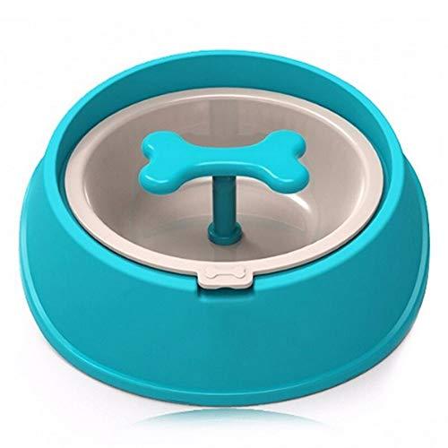 Voederbak voor honden/katten/honden/katten/honden/katten/Driking botten/water in de vorm van borden/Slow voederbak voor puppen, klein